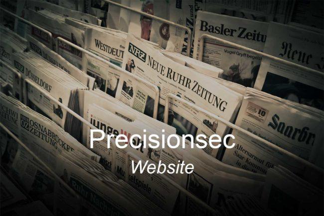 precisionsec-clients-website